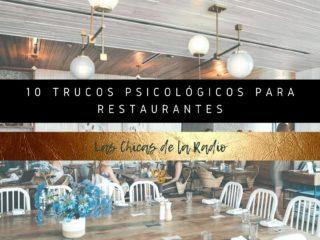 10 TRUCOS PSICOLÓGICOS PARA RESTAURANTES