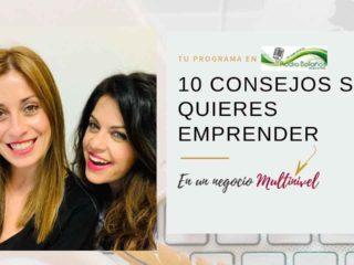 10 CONSEJOS Para Emprender En Un Negocio MULTINIVEL
